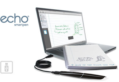 Echo Smartpen with USB and laptop