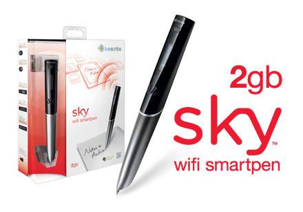 2GB Sky™ wifi smartpen w/ Evernote Premium