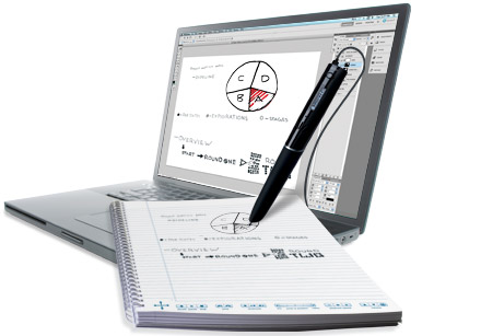 my script for livescribe  software