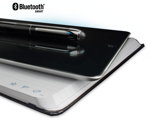 Livescribe 3 Smartpen with notebook and ipad